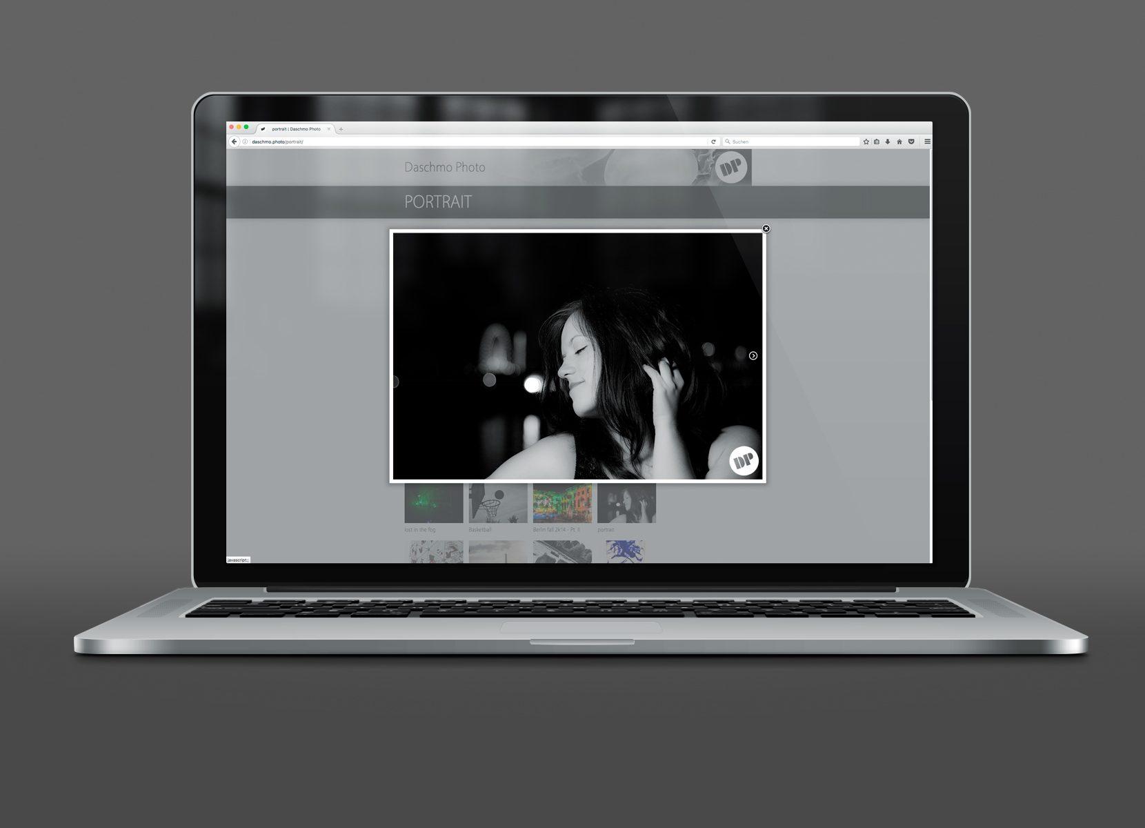 Screenshot eines Laptops